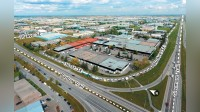 Contiguous Warehouse Bays with Heavy Power & Rail Access - Industrial - Lease