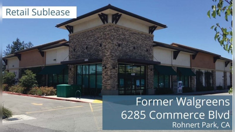 Walgreens 15549 - COMMERCE BLVD - Rohnert Park, CA - Retail - Lease