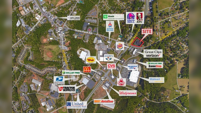 Walgreens 18108 - STATE PARK ROAD - Travelers Rest, SC - Retail - Lease