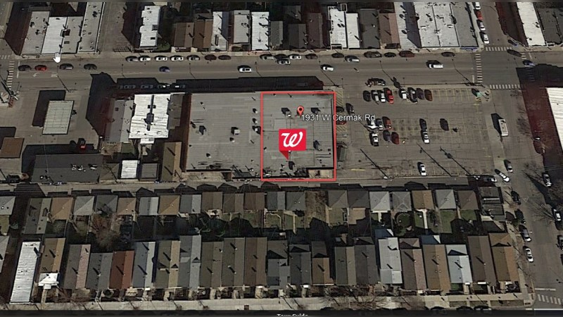 Walgreens 1417 - W CERMAK RD - Chicago, IL - Retail - Lease