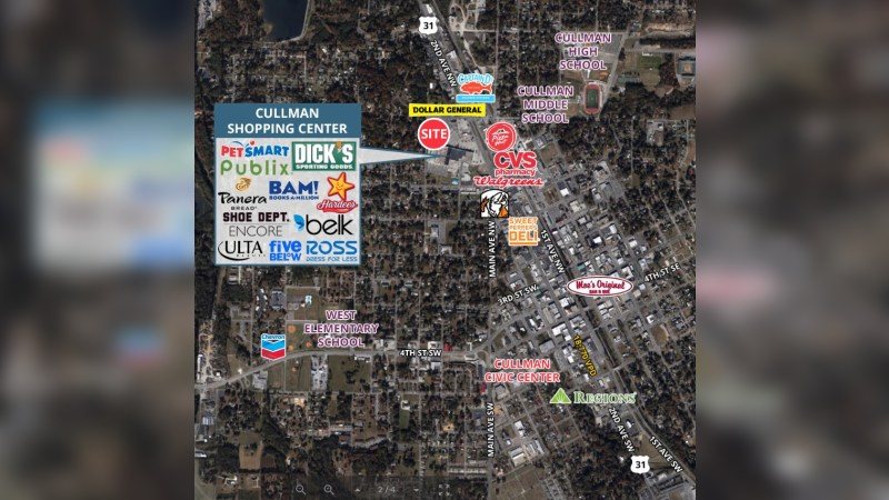 Walgreens 17406 - 715 CULLMAN SHOPPING CENTER - Cullman, AL - Retail - Lease