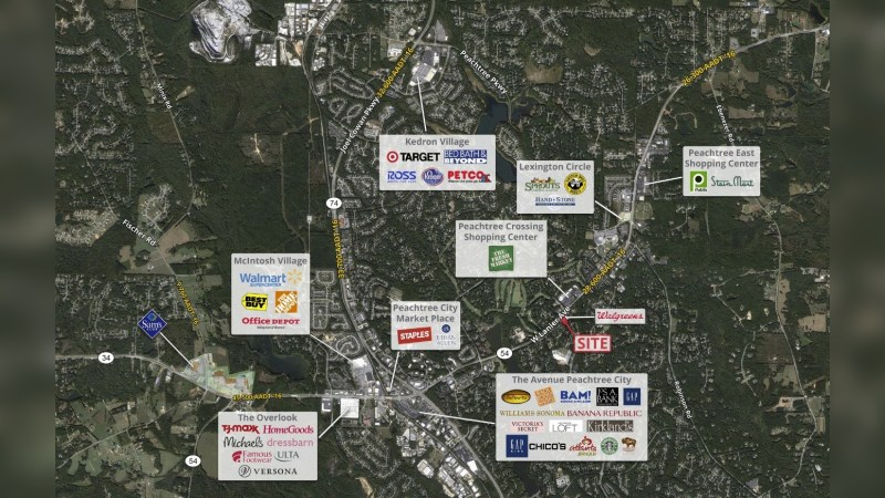 Walgreens 17210 - HIGHWAY 54 - Peachtree City, GA - Retail - Lease