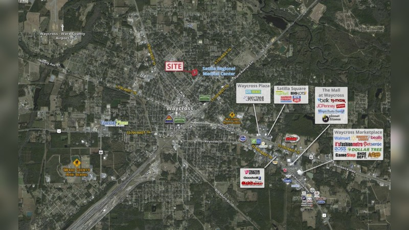 Walgreens 17657 - RIVERSIDE AVENUE, SUITE B - Waycross, GA - Retail - Lease