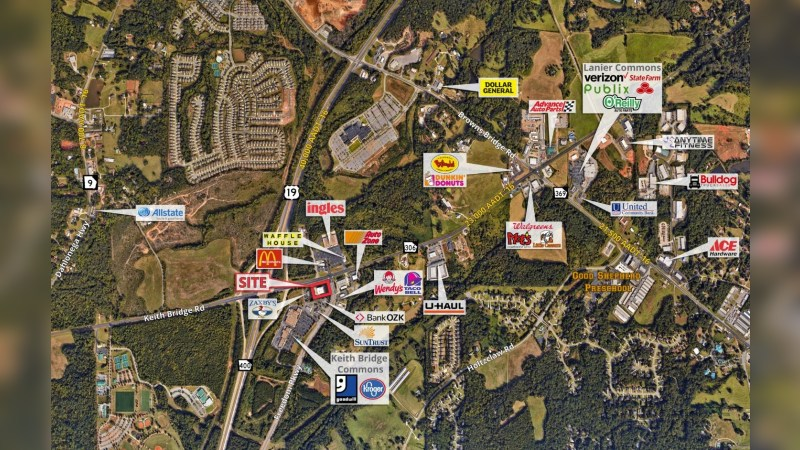 Walgreens 17377 - 2820 KEITH BRIDGE RD - Cumming, GA - Retail - Lease