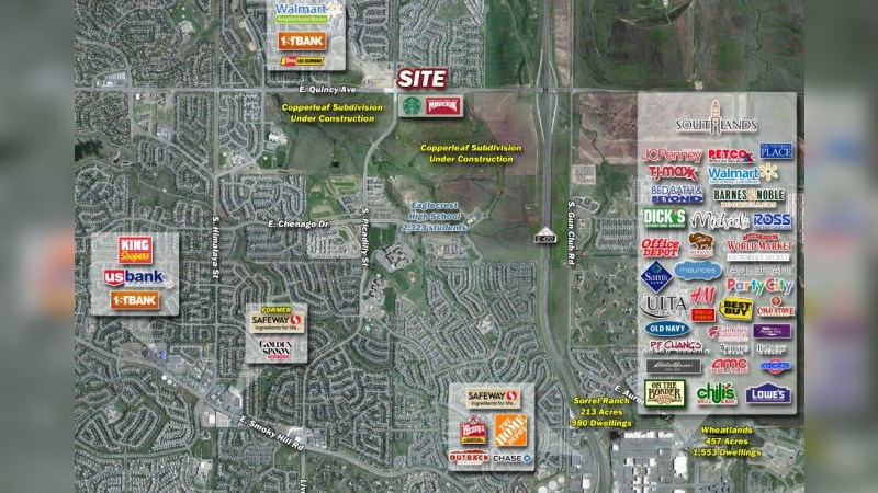 Walgreens 9913 - NEC OF PICADILLY & QUINCY - Aurora, CO - Retail - Sale