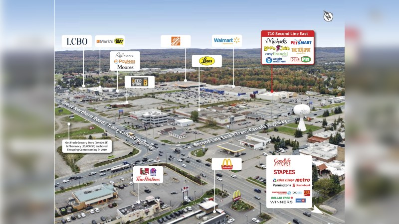 FOR SALE:  710 Second Line East - Retail - Sale
