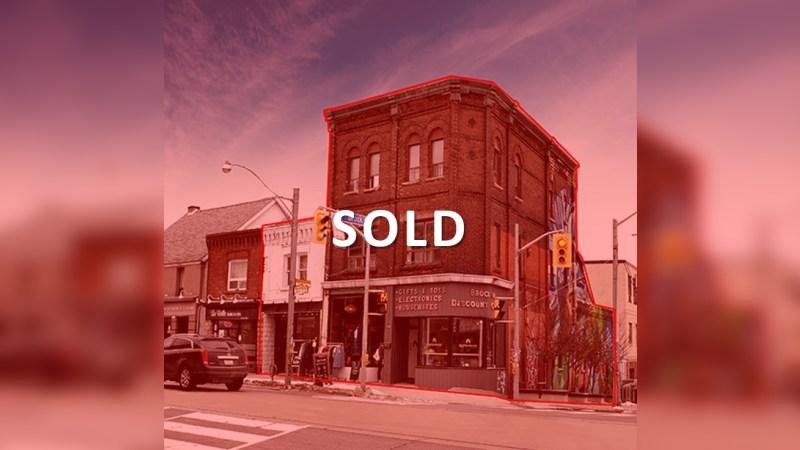 1611-1615 Dundas Street West - MixedUse - Sale