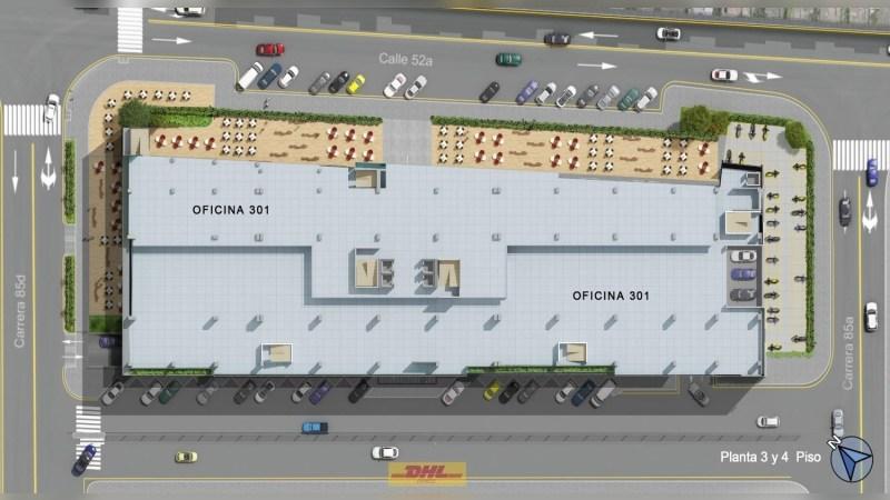 Megaport - Oficinas en arriendo en Bogotá - Office - Lease