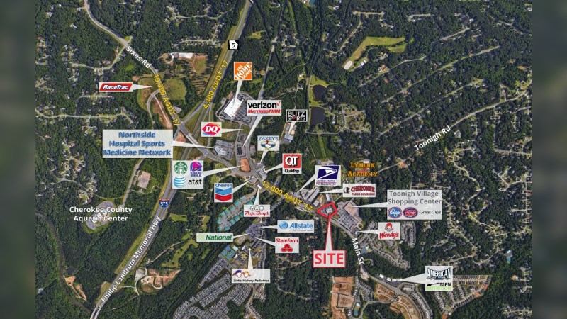 Walgreens 18192 - 5329 OLD HIGHWAY 5 - Holly Springs, GA - Retail - Lease