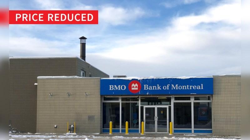 BMO Building: 4928 Hankin Street - Retail - Sale