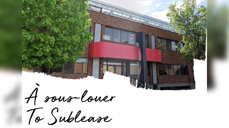 1400 rue Antonio-Barbeau, Montréal, QC H4N 1H5 - Office - Sublease