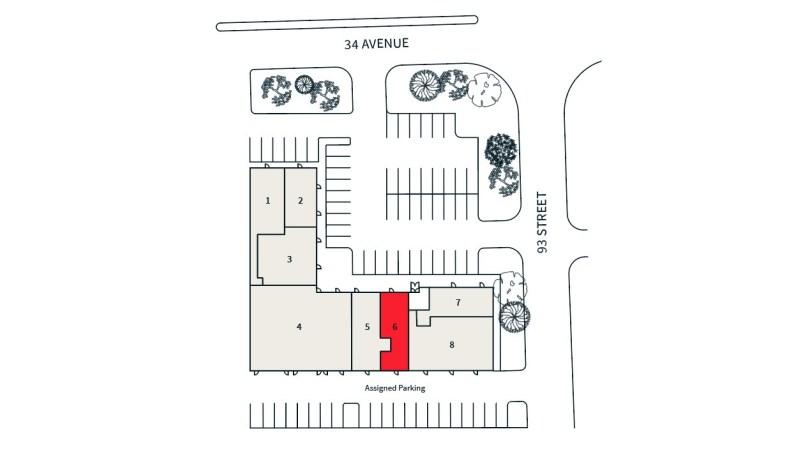 Parsons Village: 9303 34 Avenue (Former Salon Space) - Retail - Lease