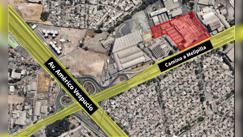 Terreno Industrial / Comercial Américo Vespucio - Industrial - Lease