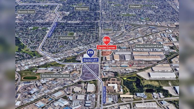 Davies Corner (75th Street Brand New Retail near LRT) - Retail - Lease