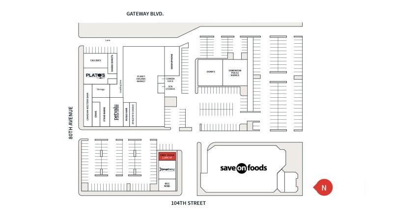 Strathcona Town Centre Retail (End-Cap Unit) - Retail - Lease