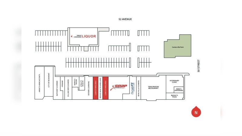 Beau Village Shopping Centre: 5023 52 Avenue - Retail - Lease
