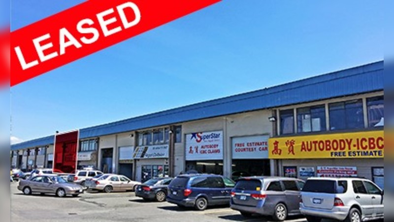 150 - 11451 Bridgeport Road, Richmond - Industrial - Lease