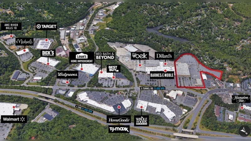 1 S Tunnel Rd, S TUNNEL RD - Asheville, NC - Retail - Lease