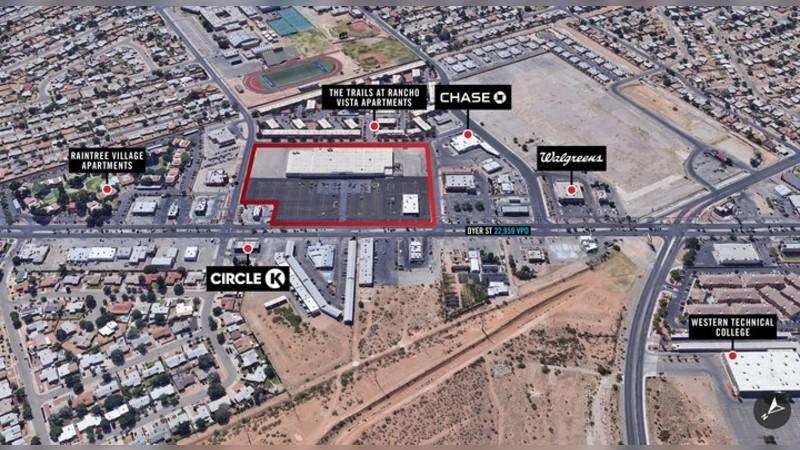 9484 Dyer St, DYER ST - El Paso, TX - Retail - Lease