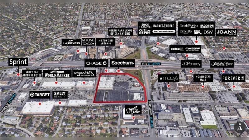 201 Central Park Mall, CENTRAL PARK MALL - San Antonio, TX - Retail - Lease