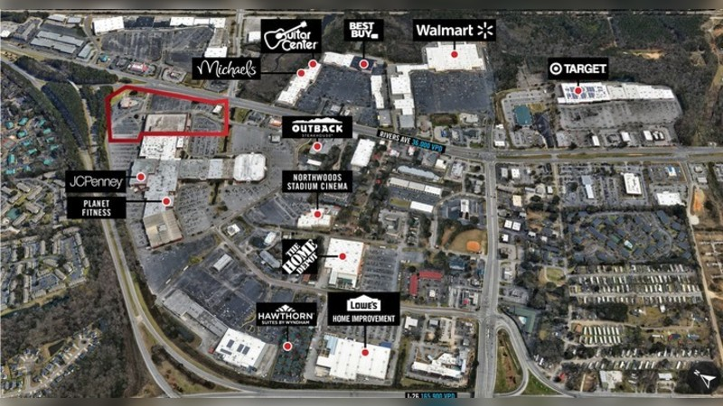 7801 Rivers Ave, RIVERS AVE - North Charleston, SC - Retail - Lease