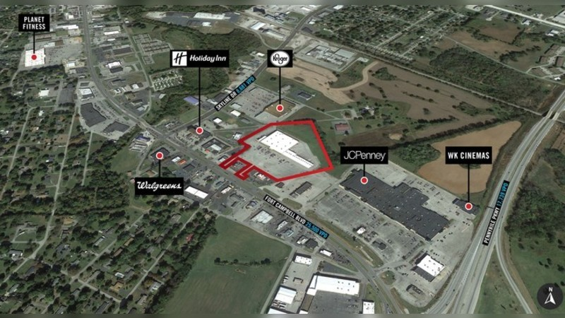 3040 Fort Campbell Blvd, FORT CAMPBELL BLVD - Hopkinsville, KY - Retail - Lease