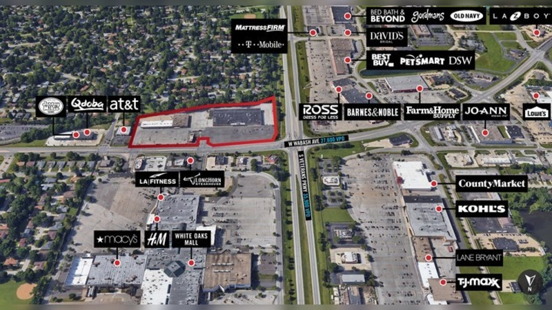 2500 Wabash Ave, WABASH AVE - Springfield, IL - Retail - Lease