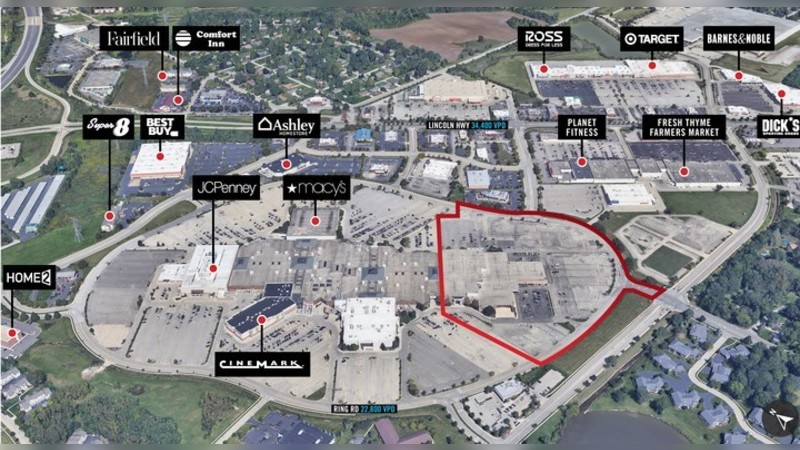 3340 Mall Loop Dr, MALL LOOP DR - Joliet, IL - Retail - Lease
