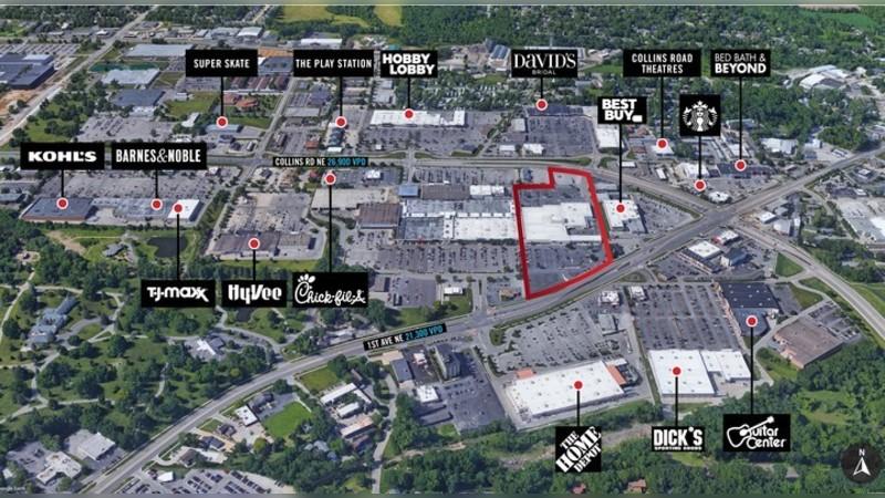 4600 1st Ave NE, 1ST AVE NE - Cedar Rapids, IA - Retail - Lease