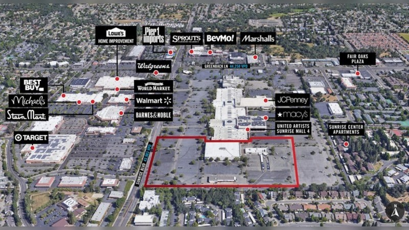 5900 Sunrise Mall, SUNRISE MALL - Citrus Heights, CA - Retail - Lease