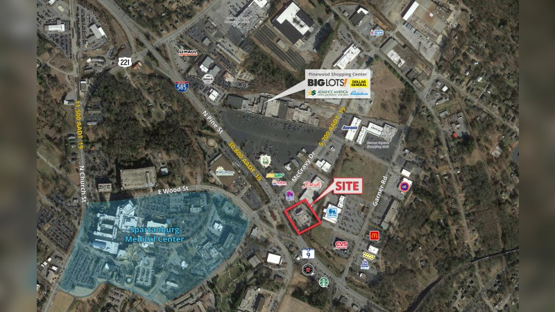 Walgreens 19511 - 786 North Pine Street - Spartanburg, SC - Retail - Lease
