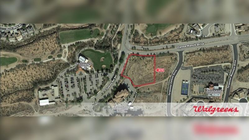Walgreens 11280 - SEC Canoa Ranch Dr & Camino Del Sol - Green Valley, AZ - Land - Sale