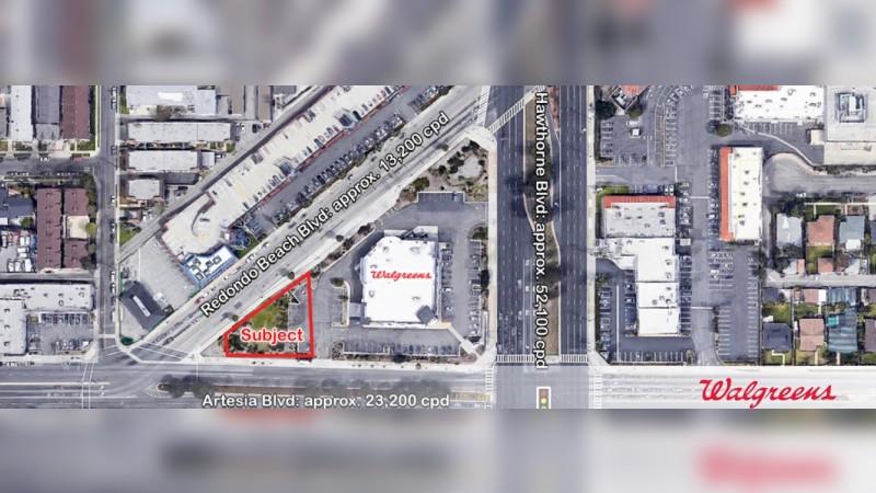 Walgreens 6496 - 2321 Hawthorne Blvd - Redondo Beach, CA - Land - Sale