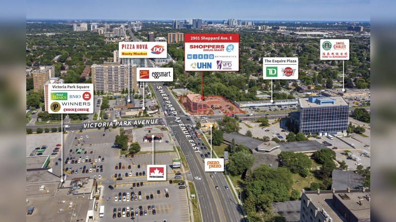 2901 Sheppard Avenue East, Toronto - Retail - Sale