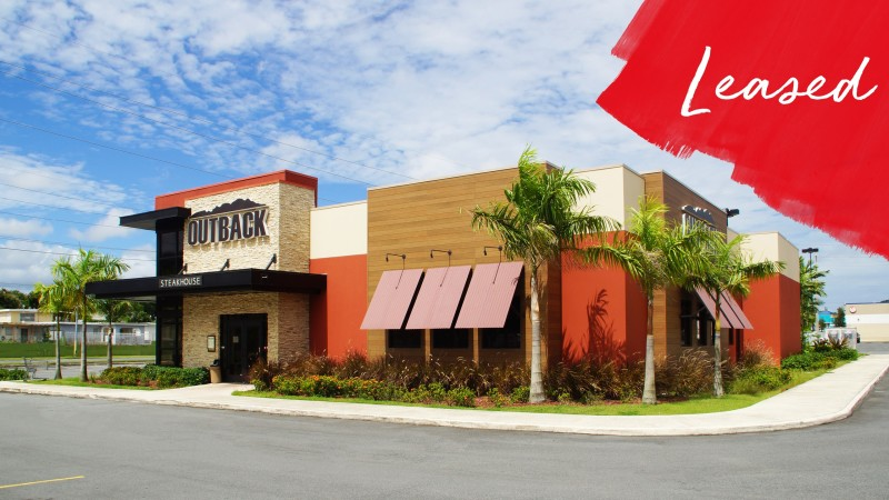 Former Outback Steakhouse | Plaza del Sol - Retail - Lease