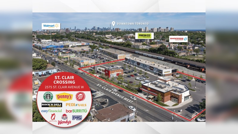 2575 St. Clair Avenue West, St. Clair Crossing, Toronto, ON - Retail - Sale