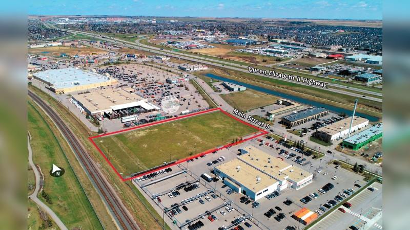 Sierra Springs Airdrie Industrial Land - Industrial - Sale