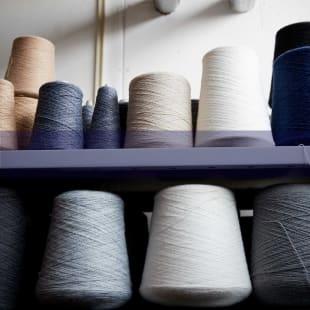 Sustainable knitwear yarns