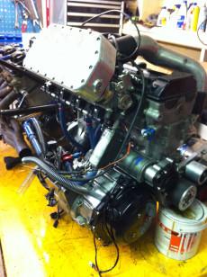 Super Charged Hayabusa Engine