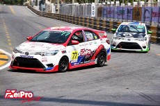 THAILAND TOYOTA ONE MAKE RACE ARRIVE AND RACE