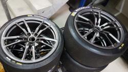 Set Superleggera rims for Lamborghini Gallardo and Huracan