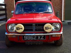 1972 mini 1275 GT restored and fully rally prepare
