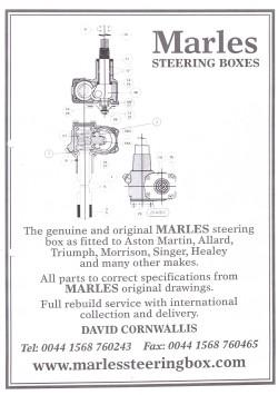 MARLES steering boxes