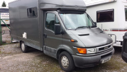 Iveco Daily Motorsport Conversion With Large GH Awning
