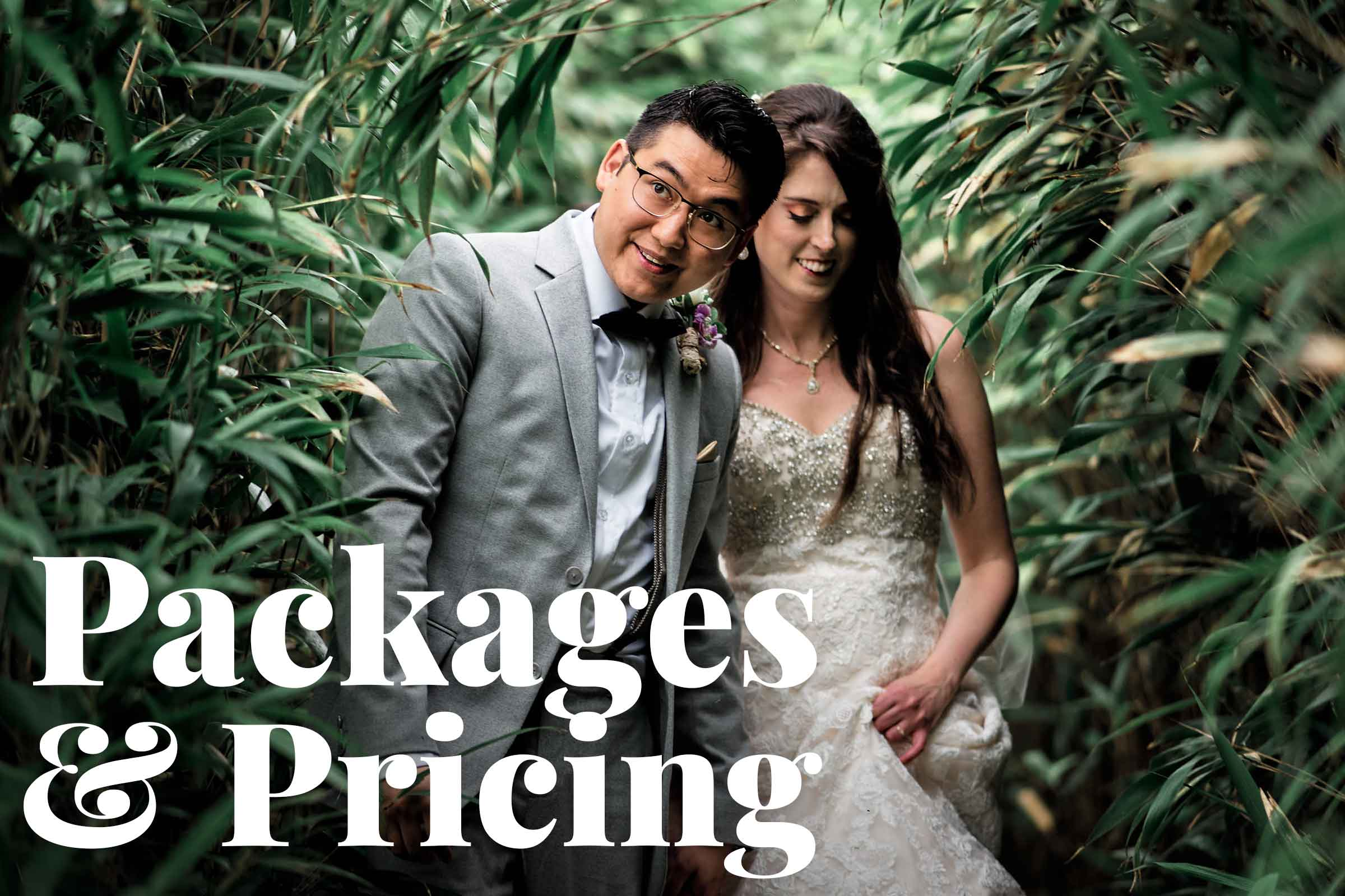 Unposed, Modern & Creative Wedding Photography Packages & Prices
