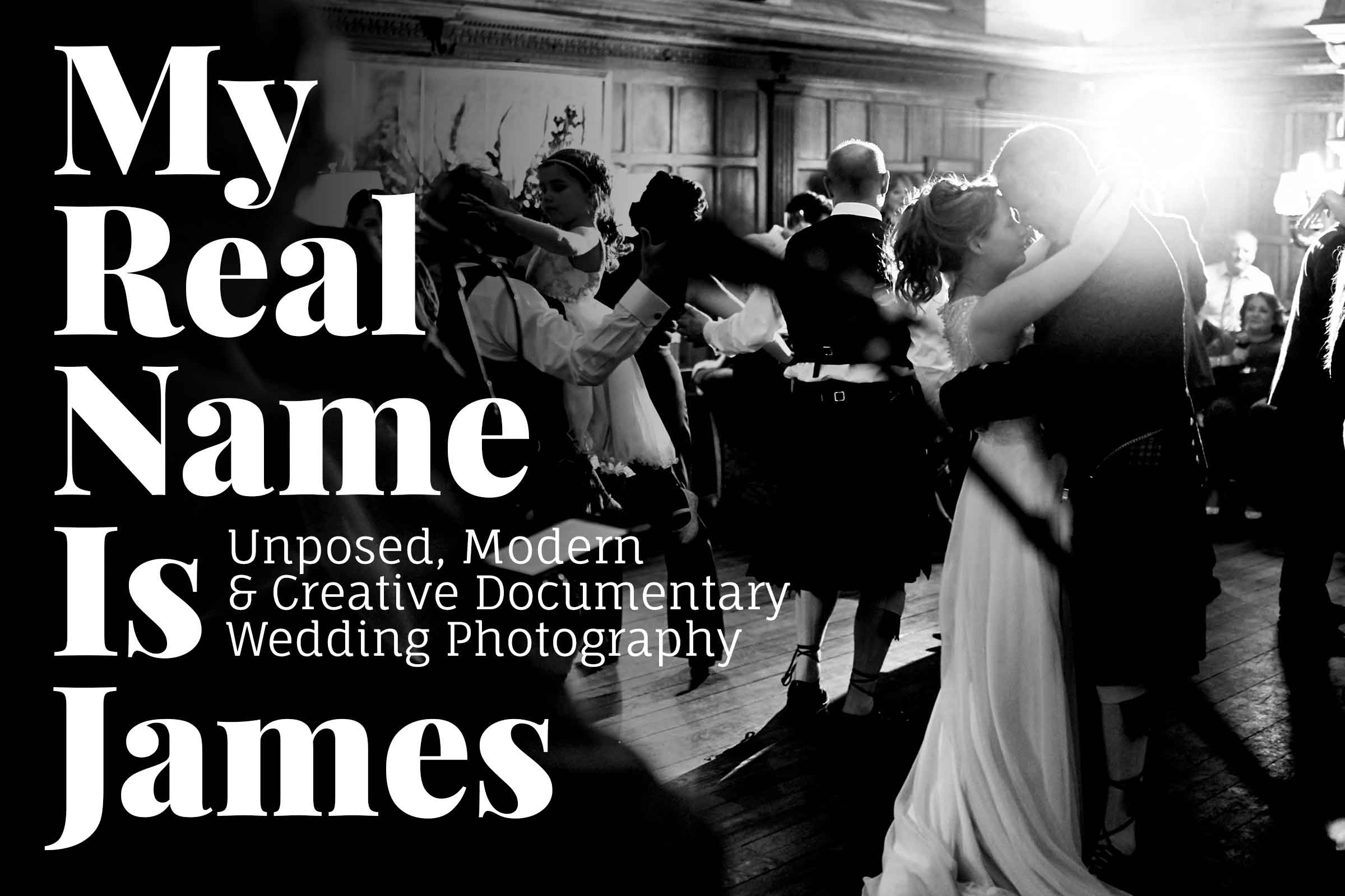 Unposed, Modern & Creative Wedding Photography Based In Limerick, Ireland // My Real Name Is James