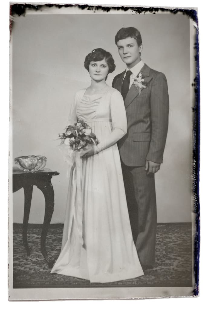 vintage wedding photography