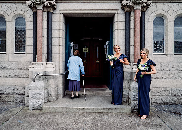 St Josephs Church Ceremony - THE WESTBURY HOTEL WEDDING // DUBLIN // NICOLA & ANDY