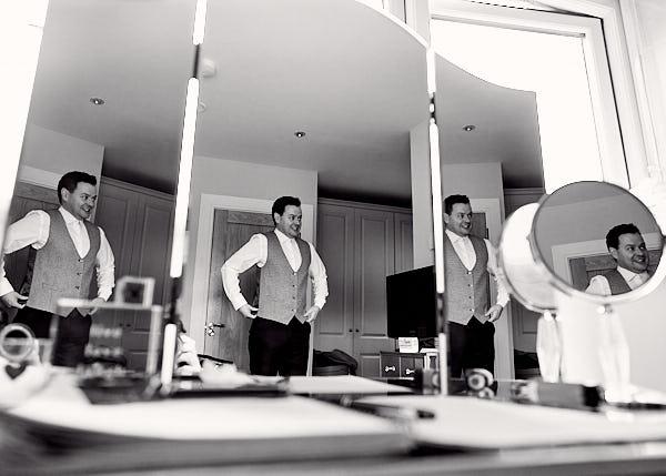 Groom Prep - THE WESTBURY HOTEL WEDDING // DUBLIN // NICOLA & ANDY