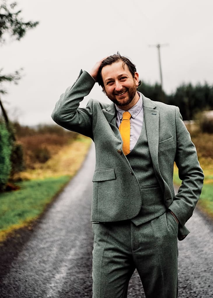 Jamie Gillies / My Real Name Is James Wedding Photography Jamie Gillies & Jemma Lawlor    Ireland 2021